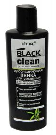 Витекс Black Clean Пенка адсорбирующая для умывания 200мл